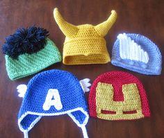 Crochet For Children: Avengers Assemble - Free Patterns