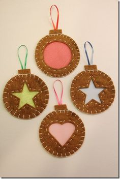 Stained Glass Cookie Ornaments 2
