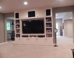 basement by The Affordable Companies http://www.houzz.com/photos/2764525/Whole-House-Flooring-modern-basement-indianapolis
