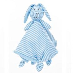 Teddykompaniet  Stripes Bunny Cuddly (Blue)