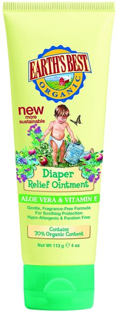 Earths Best Nappy Relief Ointment