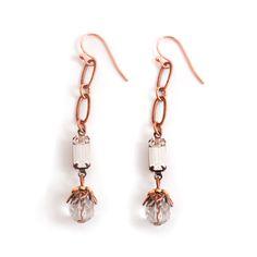 Rhinestones & Beads Earrings
