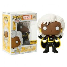 Marvel Xmen Funko Pop Storm Black Costume Variant Exclue Hot Topic bobble head…