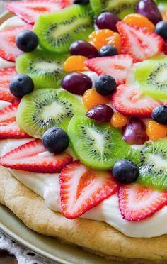 Sallys Baking Addiction Fruit Pizza. - Sallys Baking Addiction