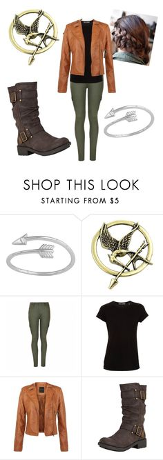 """The Girl on fire "" by lydiaviolet ❤ liked on Polyvore featuring Ally Fashion, Vince and Rocket Dog"