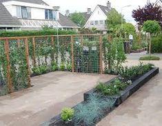 Afbeeldingsresultaat voor strakke tuin