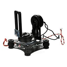 2-Axis Brushless FPV Camera Mount PTZ Gimbal Kit for DJI Phantom / Walkera QR X350 / GoPro Hero. Control panel: BGC3.1 brushless gimbal control panel Software: BGC2.2 Compatible with GoPro 3, 2, 1 Spacing of mounting plate: 20mm Battery plug type: JST Voltage: 12V Features: Simple structure, light weight, CNC aluminum alloy Drove by brushless motor directly With shock-absorbing rubber ball, convenient to adjust Comes with 2 2804 160kv motors, V3 gimbal controller, sensor Adjustment-free kit…