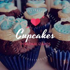 Cupcakes Muffins decorados personalizado - Aldea Muffins Decorados, Desserts, Food, Custom Cupcakes, Food Cakes, Sweet Treats, Facts, Tailgate Desserts, Deserts