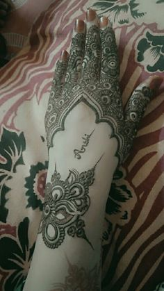 Mehndi Designs, Hand Henna, Hand Tattoos, Mehandi Designs