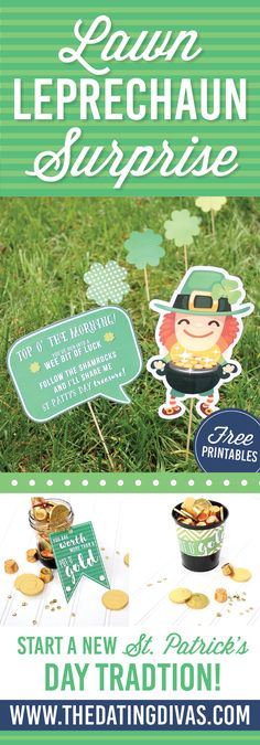 You�ve Been Shamrocked: Lawn Leprechaun Idea