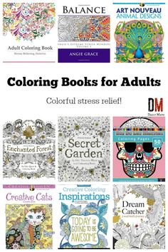 Need a fast way to unwind? Coloring books for adults relieve stress and are loads of fun! These adult coloring books are some of the best available!