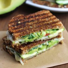 Up your sandwich game with this zucchini and avocado grilled cheese.