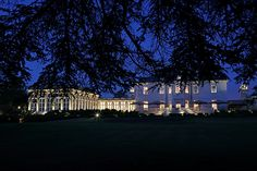 "The Langley, A Luxury Collection Hotel, Buckinghamshire. ""Right Light, Right Place, Right Time"" ™ Langley Park, Window Reveal, Lighting Control System, Luxury Collection Hotels, External Lighting, Country Hotel, Treatment Rooms, Winter Garden"