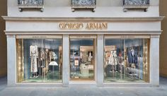 The interior retail project for #Armani #shoowroom #Venice #Venezia #design #interiordesign #retail