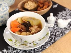 Dried Mangosteen, Winter Melon Pork Ribs Soup By Day Day Cook