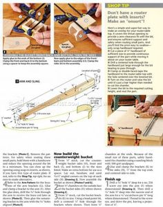 #2472 Toy Catapult Plans - Wooden Toy Plans