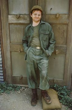 Gary Burghoff as Radar O'Reilly M*A*S*H   I am in live with Radar.  If he was not a fictional character, I would marry him!