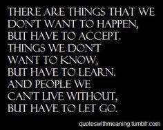 But we get through
