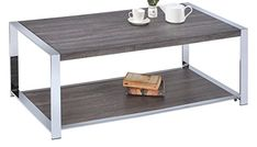 MYCO Furniture Weathered Coffee Table Taupe * Check out the image by visiting the link. (This is an affiliate link) #FurnitureCoffeeTables