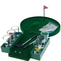 Fun Mini Golf Drinking Game Gadget Party Home Amusement