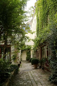 Cour du Bel Air, Par
