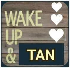 Good morning tanners!! It's supposed to be a HOT weekend! Are you tan enough for tank tops and shorts?! If not, come by Shoreline Tan. We've got salon quality lotions and luxurious tanning beds that will get you tanner than everyone else ;)