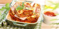Lasagnes aux légumes grillés et pesto rosso