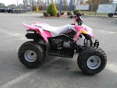 New 2016 Polaris Outlaw® 110 EFI ATVs For Sale in North Carolina. Pink Power Electronic Fuel Injected (EFI) 110 cc Engine Parent-adjustable speed limiter Includes safety flag, helmet, and instructional DVD
