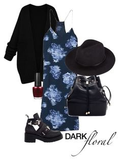 Untitled #43 by jessahh on Polyvore featuring polyvore, fashion, style, TIBI, Jeffrey Campbell and OPI