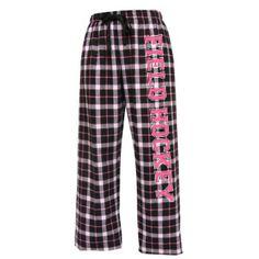 Field Hockey flannel pants!