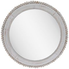 Get Beaded Round Wood Wall Mirror online or find other Wall Mirrors products from HobbyLobby.com Wood Mirror, Round Wall Mirror, Black Mirror, Round Mirrors, Wood Wall, Wall Mirrors, Mirror Glass, Bathroom Mirrors, Master Bathroom