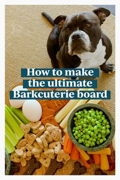 If you like charcuterie board ideas, we're teaching you how to make a barkuterie board for dogs. This dog barkuterie board is perfect for when the humans are enjoying their charcuterie board. Or if you'd like to throw a barkuterie board birthday party! Wine Guide, Dog Boarding, Charcuterie Board, Wine Tasting, Dog Food Recipes, Board Ideas, Teaching, Birthday, Dogs