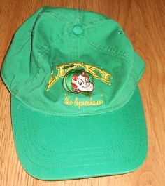 Lucky the Leprechaun lucky Charms Baseball Hat Cap General Mills Cereal  #GeneralMills