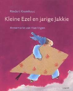 Leuk & herkenbaar verhaal met mooie illustraties. Kleine ezel en jarige Jakkie - Rindert Kromhout