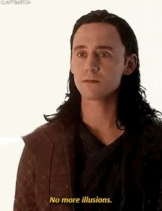 He looks legitimately pained that Thor is about so see how wrecked he is