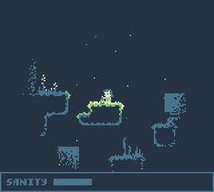 Nightwalk by Jon Tiburzi 2d Game Art, 2d Art, Video Game Art, Pixel Art Gif, Pixel Art Games, Game Design, Game Level Design, Arcade, Pixel Art Background
