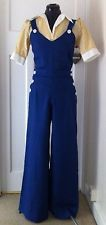 Reproduction Vintage 1940s WW2 Landgirl Royal Blue Dungarees / Overalls S 8/10   £43.00 (BIN)