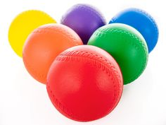 Batter hits ball, runs the bases, before defence can pass the ball around the bases. Physical Education, Pitch, Games, Physical Education Lessons, Physical Education Activities, Gaming, Plays, Game, Toys