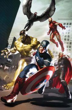 Avengers 2 Concept Art
