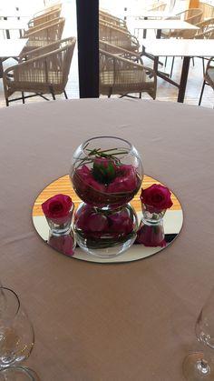 "Celebra tu boda con nosotros en Ibiza/Celebrate your wedding with us in Ibiza. Centro de mesa ""Estándar"""