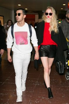 You Can Tell Sophie Turner and Joe Jonas Are Seriously in Love by the Way They Dress