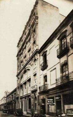 Hotel Fénix History, Pink, Guadalajara, Antique Photos, Buildings, Historia