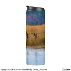 Flying Canadian Geese Tumbler