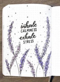 Bullet journal inspiration by ig@amandarachdoodles. | Floral doodles