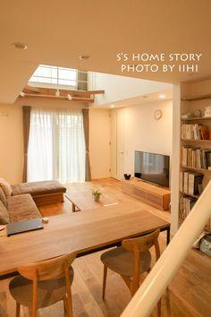 活きてるリビングDENコーナー♪_一年点検@横浜の家 | いいひブログ - いいひ住まいの設計舎
