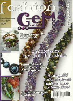 Fashion gems 6  Beadwork magazine
