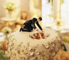 Funny wedding cake - Wedding Diary