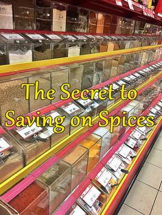 Stop Over Paying for Spices - Big Savings at The Bulk Barn Bulk Barn, Money Saving Tips, Budgeting, Spices, Big, Tips For Saving Money, Budget Organization, Saving Tips, Budgeting Tips