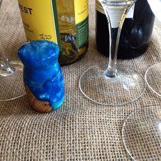 Wine Bottle Stopper handcrafted Michael's Woodcraft artsian