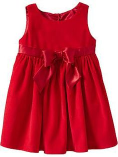 Satin-Trim Cord Dresses for Baby | Old Navy
